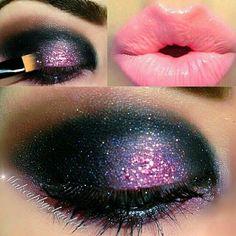 I love the purple and black