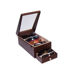 Caja para gafas del sol | Estuche cajón para gafas | Absolute Breton Organization, Display, Sunglasses, Organize, Drawers, Lenses, Crystals, Necklaces, Jewels