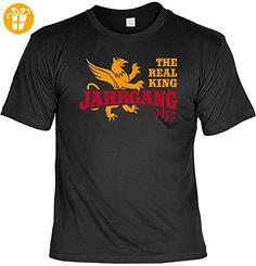 Cooles T-Shirt zum 62. Geburtstag - The Real King Jahrgang 1955 - Geschenk zum 62. Geburtstag 62 Jahre Geburtstagsgeschenk - Shirts zum geburtstag (*Partner-Link)
