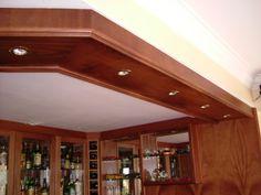 Mahogany styled bulkhead