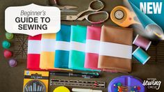 Welcome to the wonderful world of sewing! Arming yourself with the right tools will make it so much easier to dive into that first project! http://bit.ly/1I5JhEm #learnmoresewmore #LetsSew