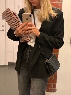 Trendy Outfits, Cool Outfits, Fashion Outfits, Womens Fashion, Preppy Style, My Style, Jeans Boyfriend, Winter Fits, Ootd
