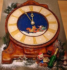 Christmas cake, wow! Great details!