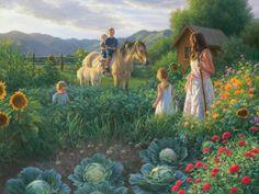 The Summer Foal -- Robert Duncan (1952, American)