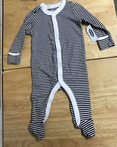 Boys Girls  Sleeper Coverall NEW New York NY Mets Baby Romper Size 6//9M 6//9 Mo
