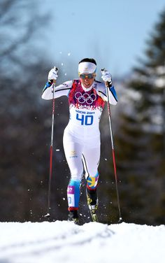 Cross-Country Skiing - Women's 10km Classic - Charlotte Kalla - Sweden - Silver…