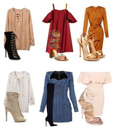 """Untitled #17"" by brandieeetaylor on Polyvore featuring Anna October, Schutz, Balmain, WearAll, Dsquared2, Zara and Giuseppe Zanotti"