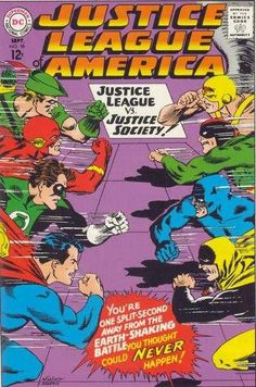 Justice League of America #56 - The Negative Crisis on Earths One-Two!