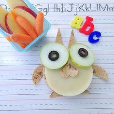 Hoo Hoo... We LOVE this FunBites owl sandwich!!