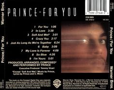 Prince For You, Warner Bros, 2 In, My Love, Movie Posters, Film Poster, Billboard, Film Posters