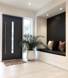 Dream Home Design, Modern House Design, Home Interior Design, Interior Architecture, Interior Decorating, Lobby Interior, Home Decor Bedroom, Home Living Room, Living Room Decor