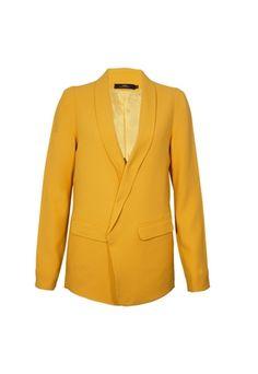 Blazer Andrea Marques New Amarelo - R$1135.00