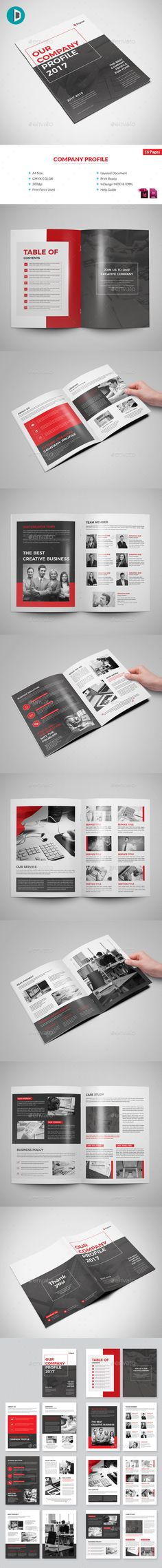 #Company #Profile - Corporate #Brochures Download here: https://graphicriver.net/item/company-profile/20340515?ref=alena994