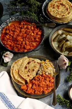 Meat Recipes, Healthy Recipes, Healthy Food, Chana Masala, Paella, Breakfast Recipes, Food And Drink, Menu, Sweets