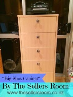 """Big Shot Cabinet"" By The Sellers Room Check out this amazing Big Shot Cabinet that Margarette has just had made ... Perfect for all your craftin' needs, and made to measure too! Margarette is happy to give a quote, please email her via msellers@thesellersroom.co.nz"
