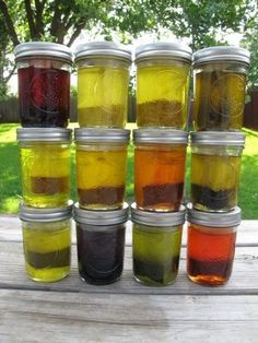 Infused oils for soap making