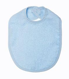Petit villain blauwe Slabber voor meer leuke babykleding en spulletjes ga naar www.hiverstore.com