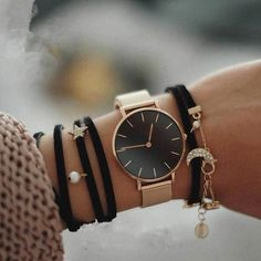 Where the dream begins ~ 产品 ~ Fashion Big Brand Women Stainless Steel Strap Quartz Wrist Watch Luxury Simple Style Designed Watches Women's Clock ~ Shopify Trendy Watches, Cool Watches, Watches For Men, Cheap Watches, Popular Watches, Elegant Watches, Wrist Watches, Casual Watches, Coco Chanel