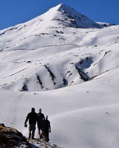 Towards Pangarchulla Peak, 15.04.2017 PC - Devasheesh Pant #india #bharat #nature #mountains
