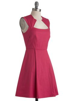 Pink Happy Thoughts Dress, #ModCloth