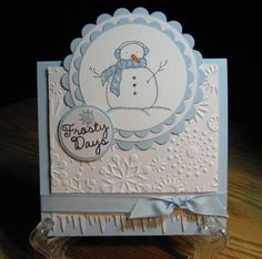 by - Cards and Paper Crafts at Splitcoaststampers Diamond Glitter, Copics, My Stamp, Snowflakes, Sunshine, Paper Crafts, Day, Christmas, Cards