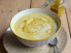 Velouté de chou-fleur au curry et lait de coco • Hellocoton.fr