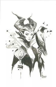 Maleficent •Kenneth Rocafort