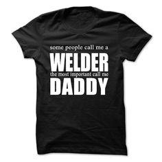 welder T-Shirts, Hoodies. Check Price Now ==► https://www.sunfrog.com/Funny/welder-26416745-Guys.html?41382