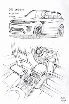 Range Rover Coloring Pages Elegant Car Drawing 2015 Land Rover Range Rover Evoque
