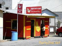 Trottie's Bar   West of Boarded Hall, St. George