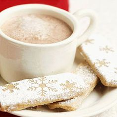 Latte Shortbread Sticks The delicate sweetness of pecans gives way to the essence of coffee in these pretty cookies.