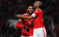 Garay (24) e Luisão (4) | Paços de Ferreira - Benfica (0-2) | 16.02.2014 | 19ª Jornada Liga Zon-Sagres