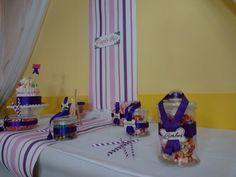 Mariage violet / blanc www.cmcmariage.com