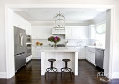 U shaped kitchen with island - Google Search