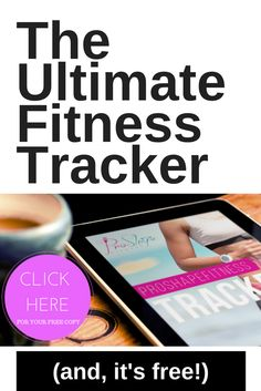 This interactive Fitness Tracker gives you everything you need to stay consistent & track your nutrition, training and overall progress in ONE place! (Oh, and it's free!) http://www.proshapefitness.com/proshapefitnesstracker/