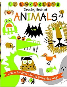 Ed Emberley's Drawing Book of Animals by Ed Emberley. Loved drawing the Lion, Gorilla and Dragon! Drawing Books For Kids, Ed Emberley, Princess Drawings, Animal Books, Animal Magazines, Classic Books, Art Plastique, Learn To Draw, Animal Drawings