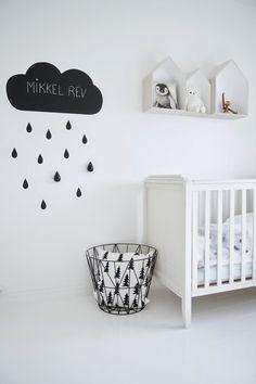 グレイッシュな赤ちゃん部屋も素敵★