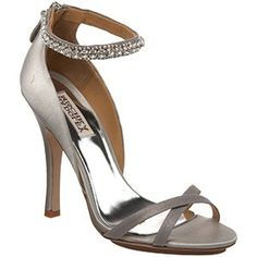 Pretty grey and bling around the ankle.