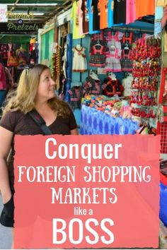 Conquer the Foreign Shopping Market like a BOSS!! - Peanuts or Pretzels