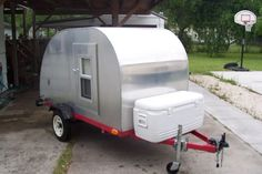 Home Made Tear Drop Camper...the whole build