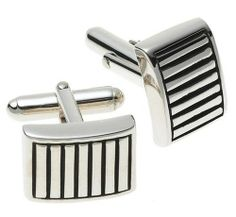 Zina Sterling Silver Lined Cuff Links Zina Sterling Silver. $110.99. Save 43% Off!