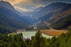 verso il ghiacciao del Bernina