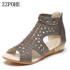 efdae7b3dac3f4  FASHION  NEW ZZPOHE Women s Sandals Woman Summer Shoes Women Fashion  Wedges Low Heel Sexy
