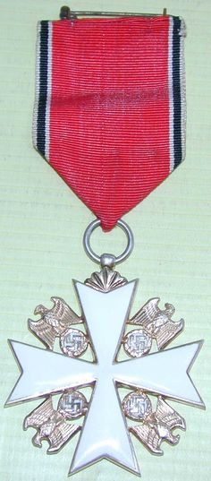 World War II Order of the German Eagle without Swords With Ribbon.