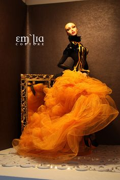 Dark Thoughts - Japan charity gown by em`lia, via Flickr