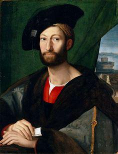 Alessandro Allori | 1535-1607  Italy | portrait of Giuliano de Medici