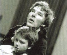 Cute kid, cutest Benedict, cutest hoodie.