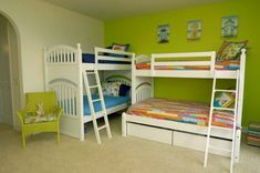 18 Creative Solutions For Decorating Child's Room For More Kids #ideas #cool #boys #bunkbeds #nursery #toy #clutter #cosy #loftbed #bedroomideas #diy #stylish #toddler #decoratingideas