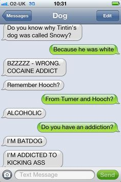 Friday Funny: Text from Dog