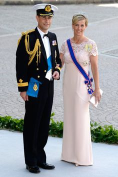 : The Earl and Countess of Wessex were wedding guests.
